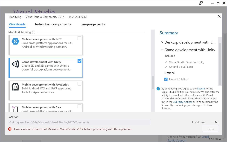 Hooking Visual Studio to Unity – adamtcroft com