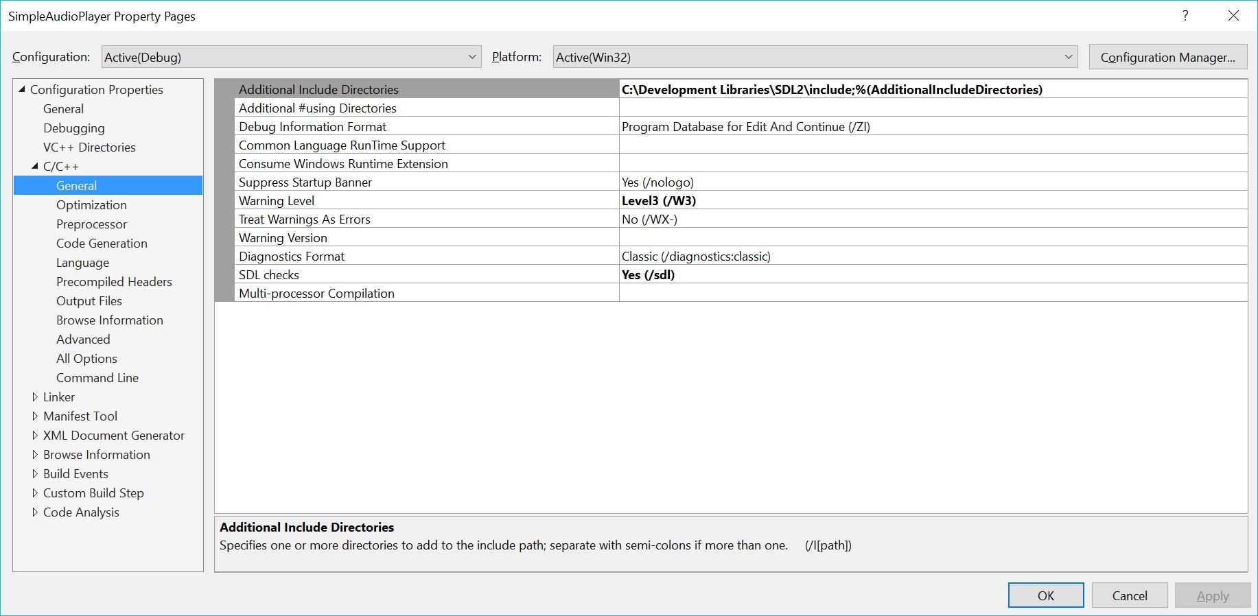 Playing sound with SDL/C++ – adamtcroft com